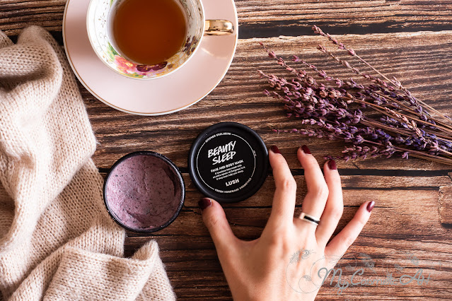 Review: la mascarilla relajante Beauty Sleep de Lush