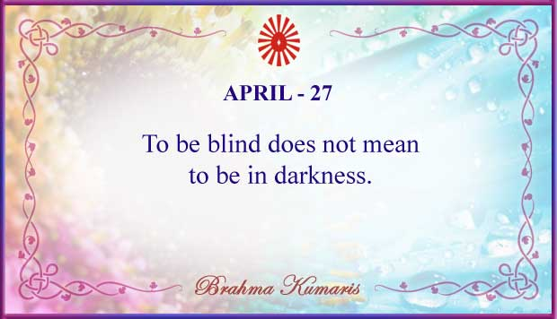 Thought For The Day April 27