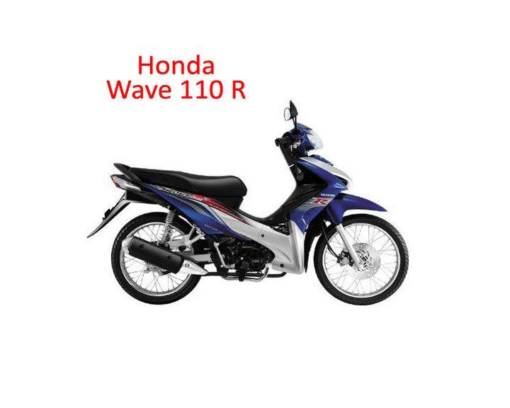 Tropicana Motorworld: Honda Wave 110 R/RS