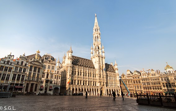 Edificios de la Grand Place en Bruselas