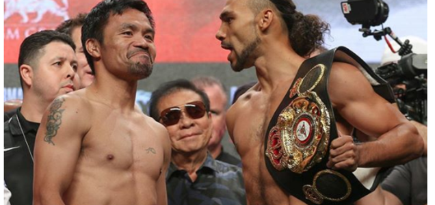 """Pacquiao after his fight against Thurman: """"Nahilo din ako"""" 