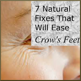 Eclectic Red Barn: 7 Natural Fixes That Will Ease Crow's Feet