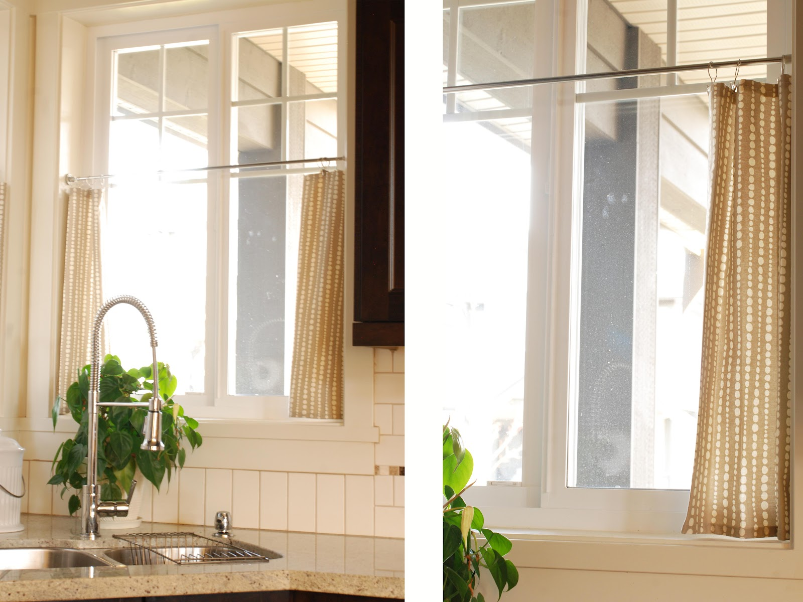 Cafe Curtains For Kitchen Countertop Types In The