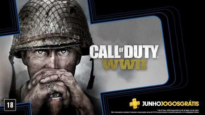 Call Of Duty: WWII é um dos Jogos gratuitos da Plus em junho