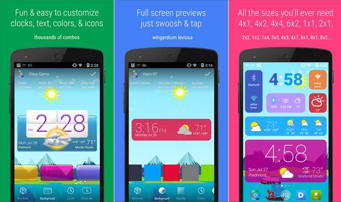 5 Widget Keren dan Terbaik Untuk Android
