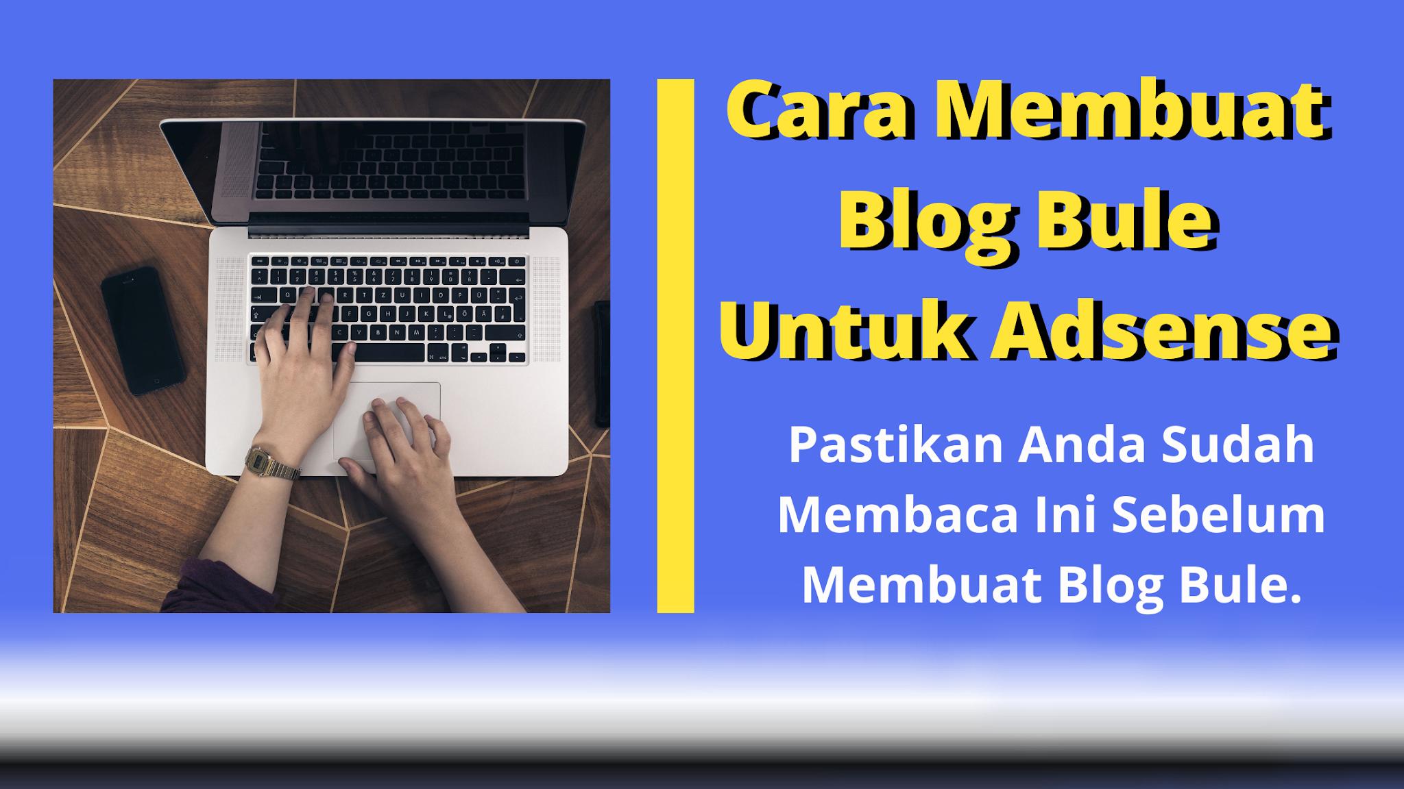 cara membuat blog bahasa inggris