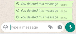 How To See Deleted WhatsApp Messages :