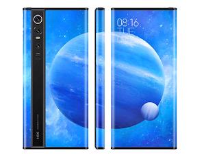 هاتف شاومي Mi Mix Alpha مصنوع بالكامل من الشاشة وكاميرا بدقة 108 ميجابكسل هاتف Xiaomi Mi Mix Alpha بشاشة ملتفة وكاميرا بدقة 108 ميجابكسل هاتف شاومى مى ميكس الفا Xiaomi Mi Mix Alpha مصنوع بالكامل من الشاشة