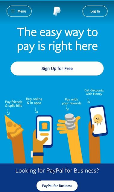 Create PayPal account 2020