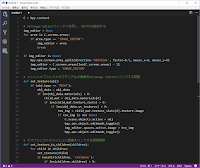 blog.fujiu.jp [Blender] マテリアルのテクスチャ画像をまとめてUVに割り当てるスクリプト