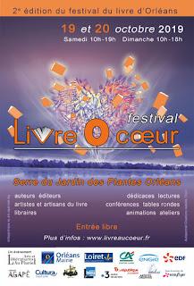 Affiche du festival Livre O Coeur 2019