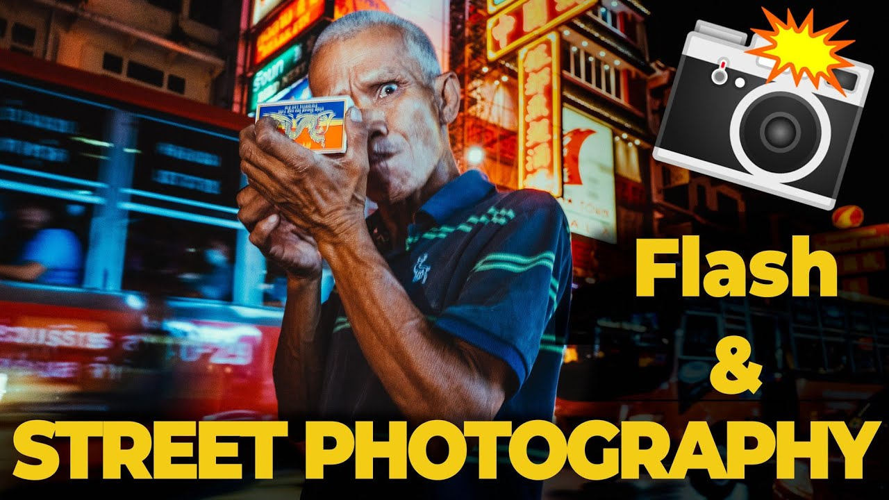 Using flash in Street Photography