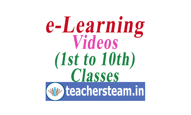 Schooledu Telangana eLearning Videos for 1st to 10th classes