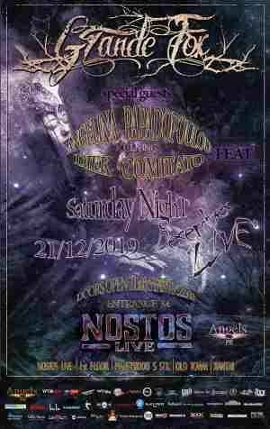 GRANDE FOX: Σάββατο 21 Δεκεμβρίου @ Nostos Live