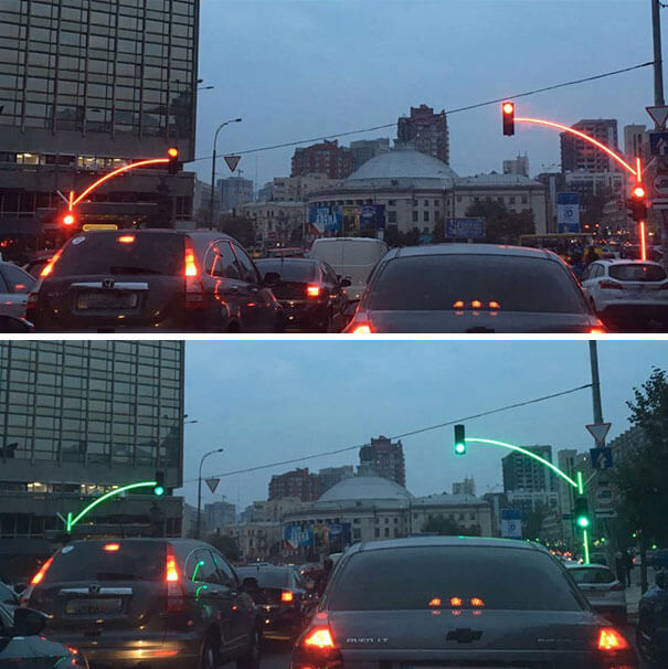 20 Brilliant Ideas That Should Become Reality Everywhere - These Traffic Lights In Ukraine