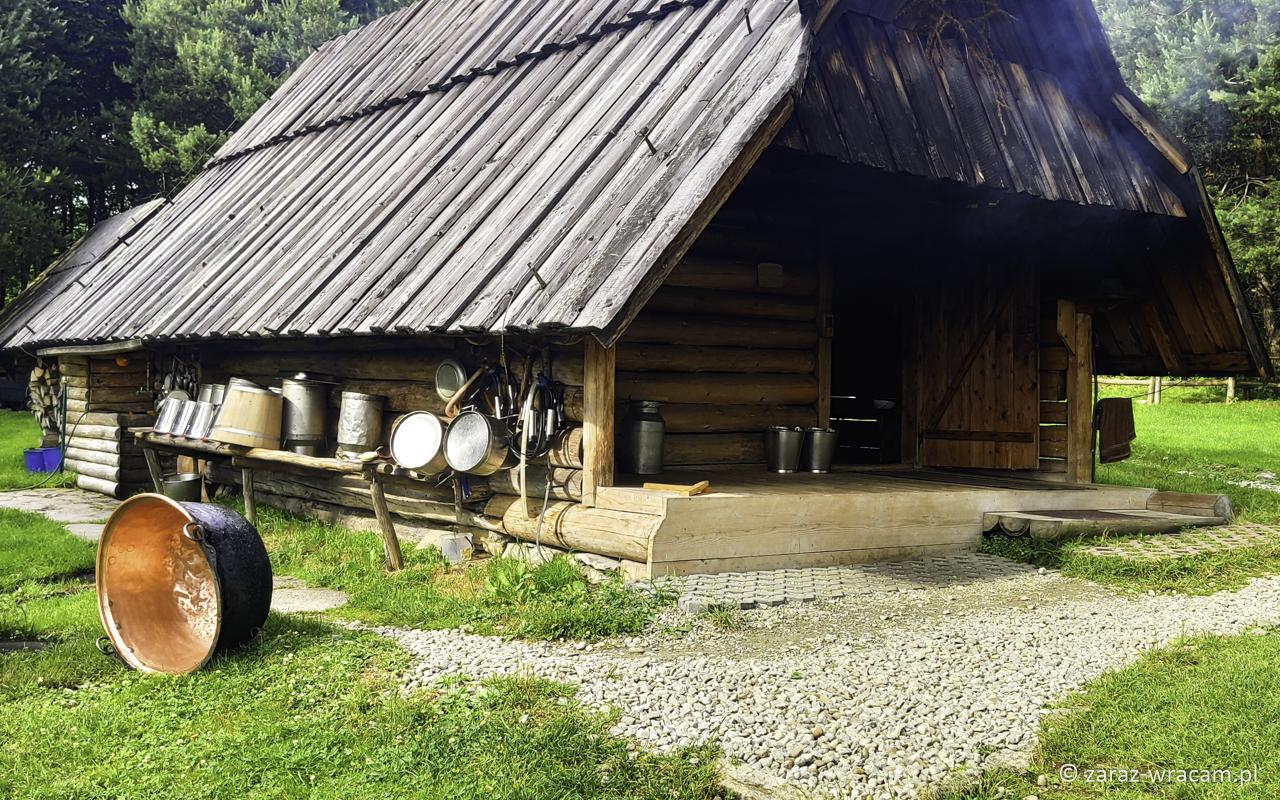 Bacówka na Polanie Majerz