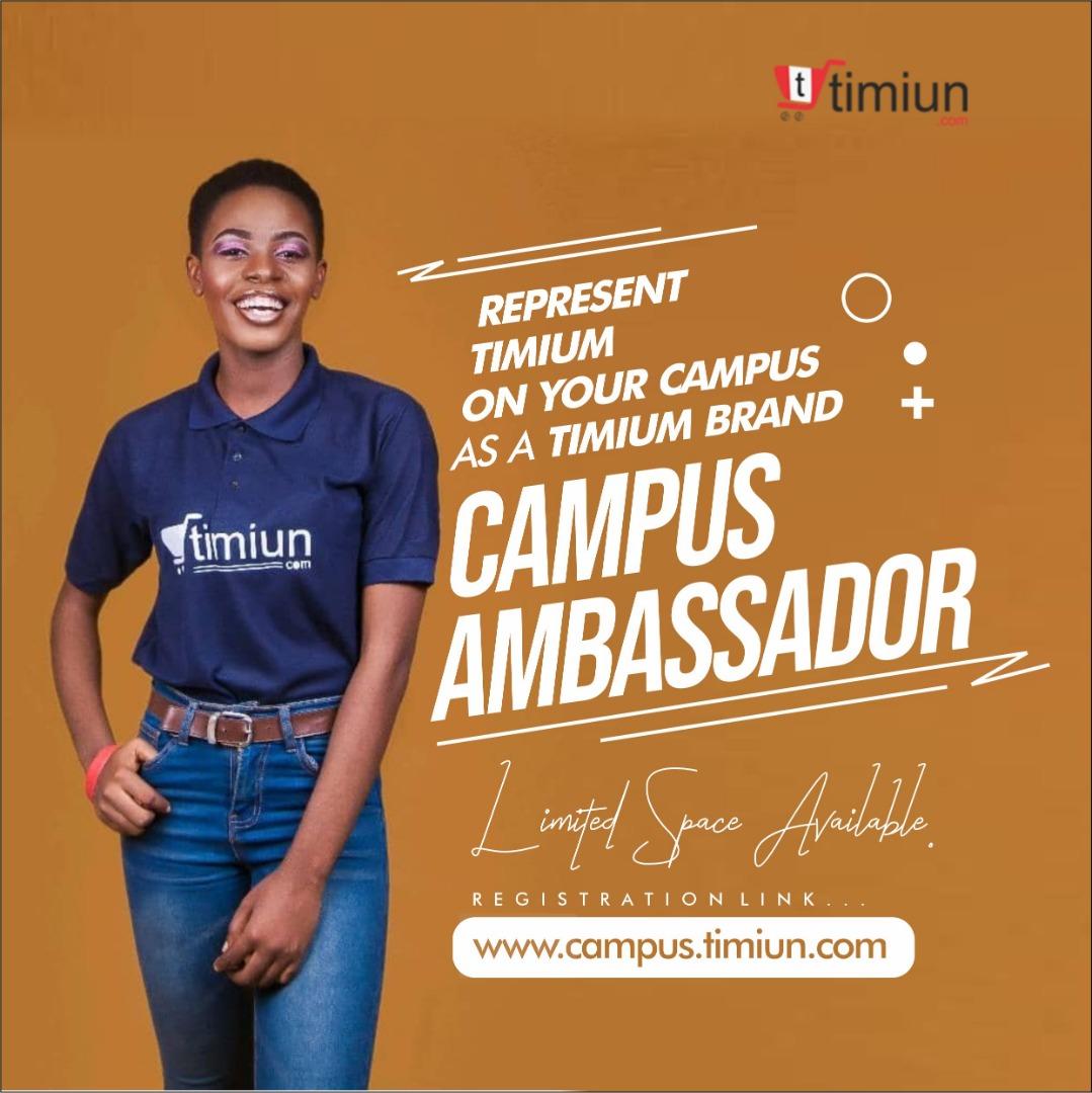 Timiun campus ambassador
