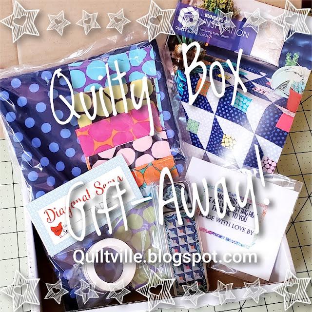 April 2021 Quilty Box Gift-Away!