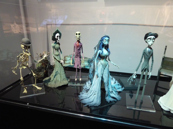 Corpse Bride stopmotion puppet characters