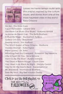 new orleans halloween music, cajun halloween playlist, voodoo queens