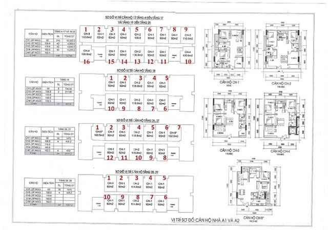 Thiết kế căn hộ Chung cư IA20 - Tòa A