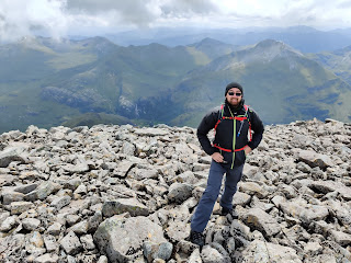 Me at the top of Ben Nevis
