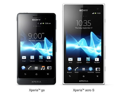 Sony Xperia Go and Xperia Acro S