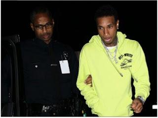 Tyga arrestee by L.A.P.D