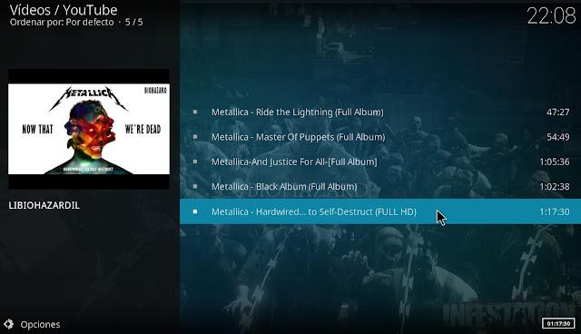 Albums Metallica kodi