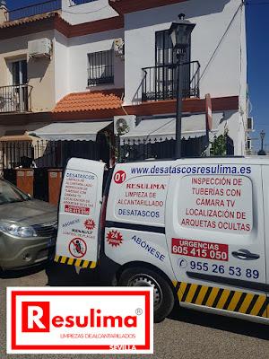 Desatascos de urgencia en Sevilla