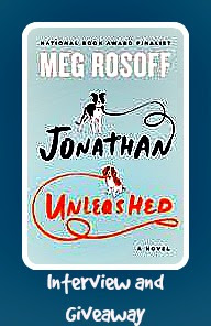 Interview, Giveaway, Jonathan Unleashed, Meg Rosoff, Bea's Book Nook
