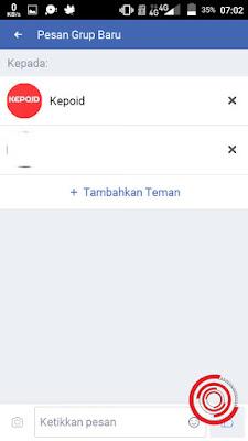 Nah Multichat di pesan Facebook sudah siap digunakan