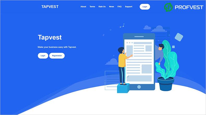 Tapvest обзор и отзывы HYIP-проекта