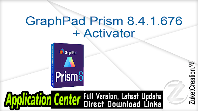 GraphPad Prism 8.4.1.676 + Activator