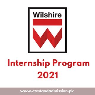 Wilshire Labs Internship Program 2021