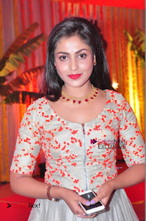 Actress Madhu Shalini Exclusive Stills in Party Dress at Vijay Karan Aashna Wedding  0017.JPG