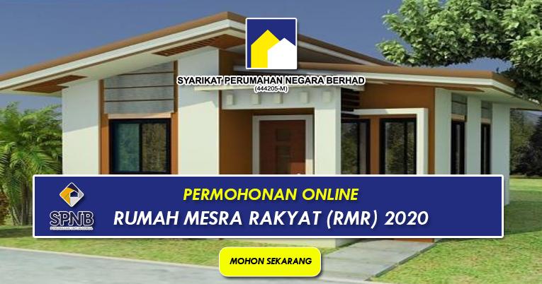 Permohonan Online Rumah Mesra Rakyat Rmr 2020