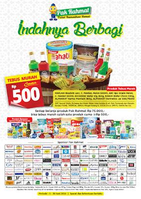 Promo Pak Rahmat Alfamart
