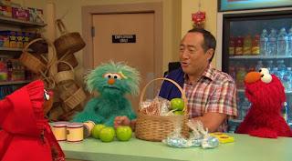 Elmo, Rosita, Alan, Little Red Riding Hood, Sesame Street Episode 4318 Build a Better Basket season 43