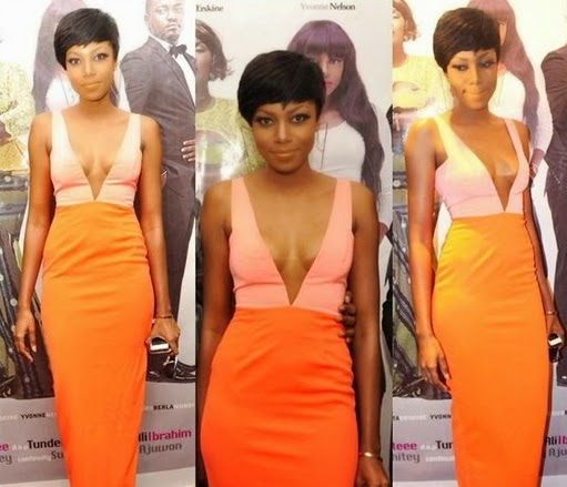 yvonne nelson doesnt wear bras
