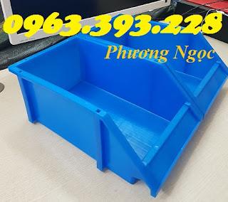 Khay nhựa vát đầu, kệ dụng cụ xếp chồng,khay đựng linh kiện, kệ dụng cụ A8  20180407_110700%2B%25282%2529
