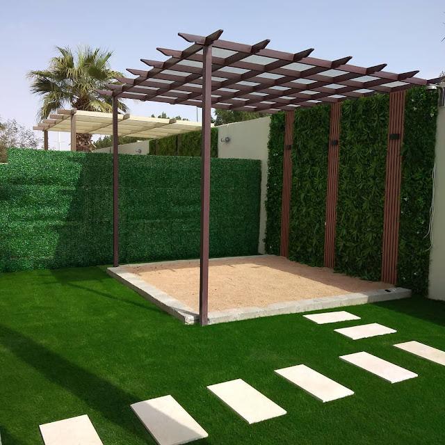شركة تنسيق حدائق منزلية في جدة وتركيب عشب صناعي جدة