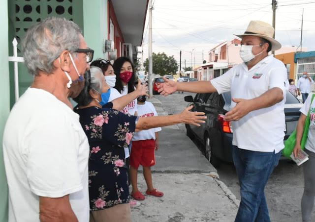 """""""Panchito"""" Torres exhorta a votar por una mejor Mérida"""