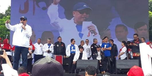 Menristekdikti & Menteri LHK Hadiri Deklarasi Dukungan Alumni IPB ke Jokowi-Ma'ruf