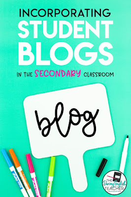 Incorporating a class blog as a writing assignment.