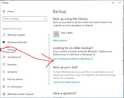 How to Backup operating system Windows 10
