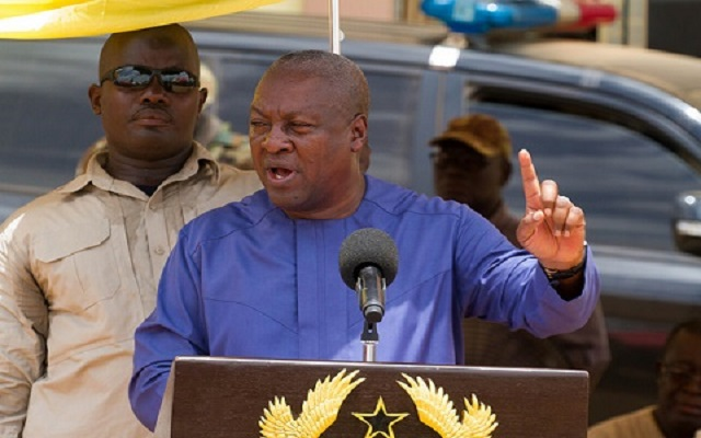 One house, one meter – Mahama promises Abura residents