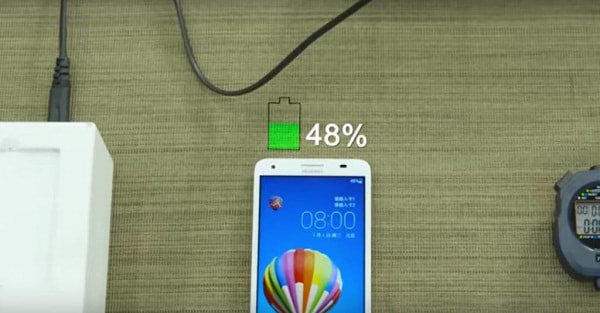 Huawei unveils its new fast charging