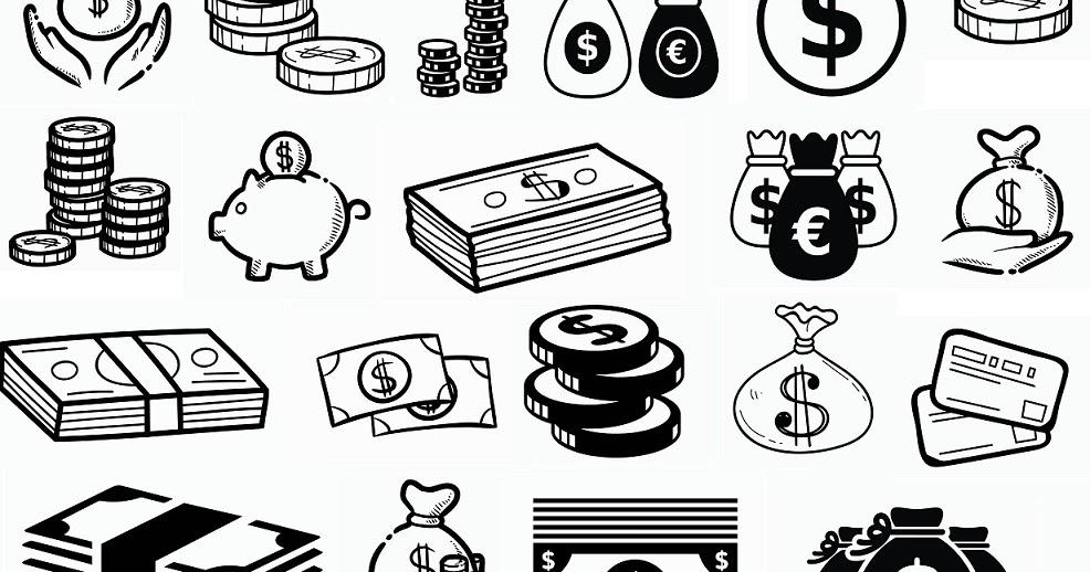 Download digitalfil: Money svg,cut files,silhouette clipart,vinyl ...