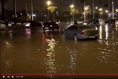 """الدارالبيضاء تغرق  والفيضانات تكشف زيف """"المدينة الذكية"""" و مواطنون يقاضون مجلس المدينة !"""